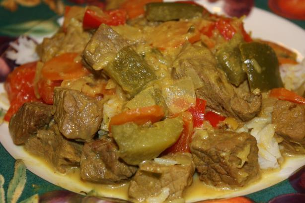 Indonesian Rendang Beef Curry