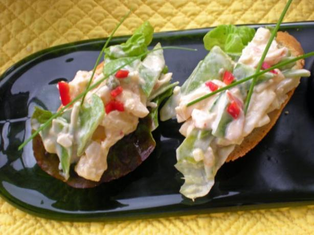 seafood salad imitation crab meat