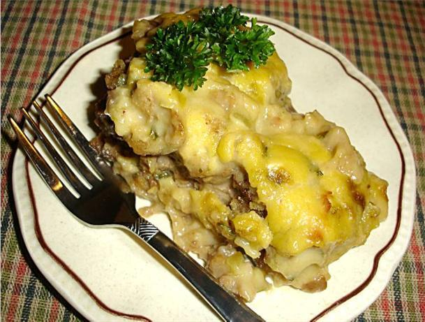 ground beef casserole with stove top stuffing