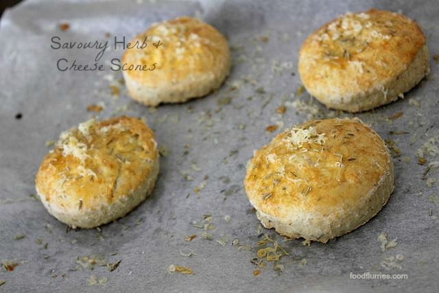Savoury Herb & Cheese Scones