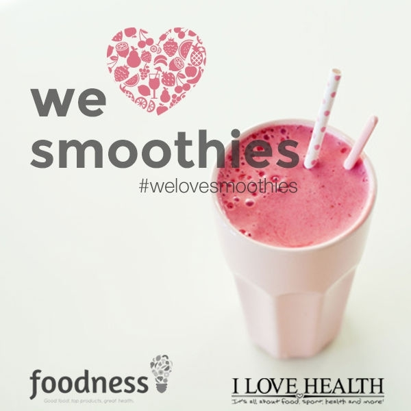 We Love Smoothies workshop van Foodness & Ilovehealth - SOLD OUT