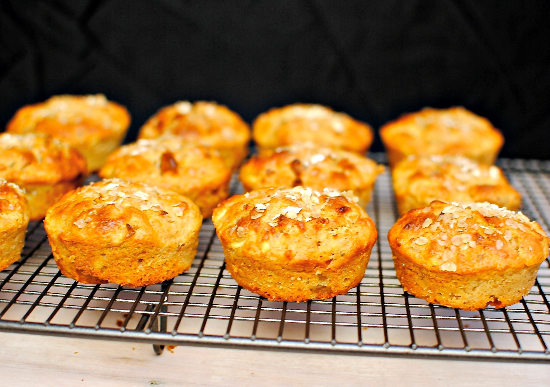 Parsnip, Pear and Rosemary Muffins + A Giveaway