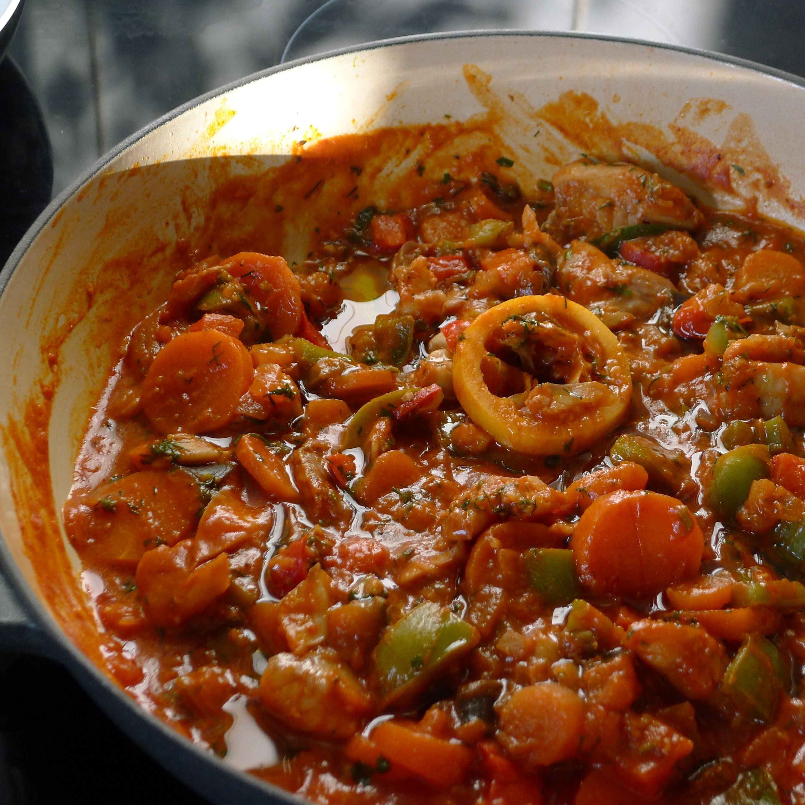 SCD Diet Update & A Simple Fish Stew