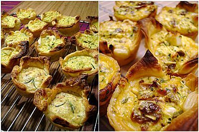 Cheesymite Mini Quiches