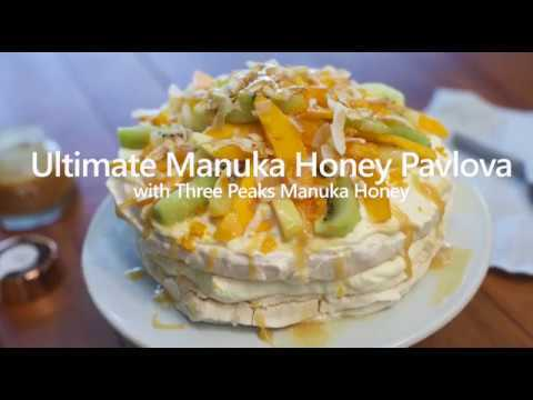 Three Peaks Manuka Honey Tropical Pavlova
