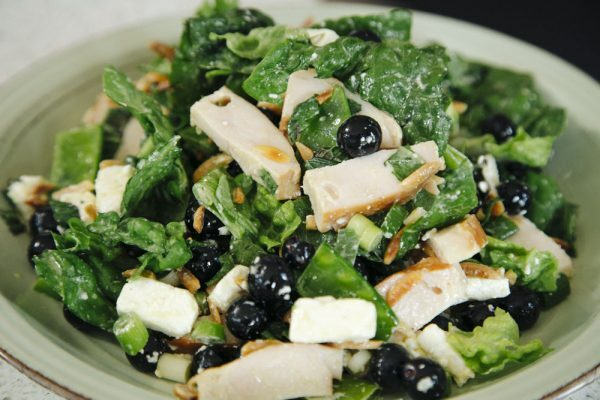 Eliza McCartney's Blueberry and Smoked Chicken Super Salad