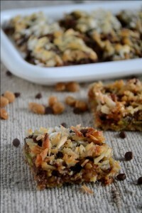 Magic Bars – 7 Layers Cookie Bars