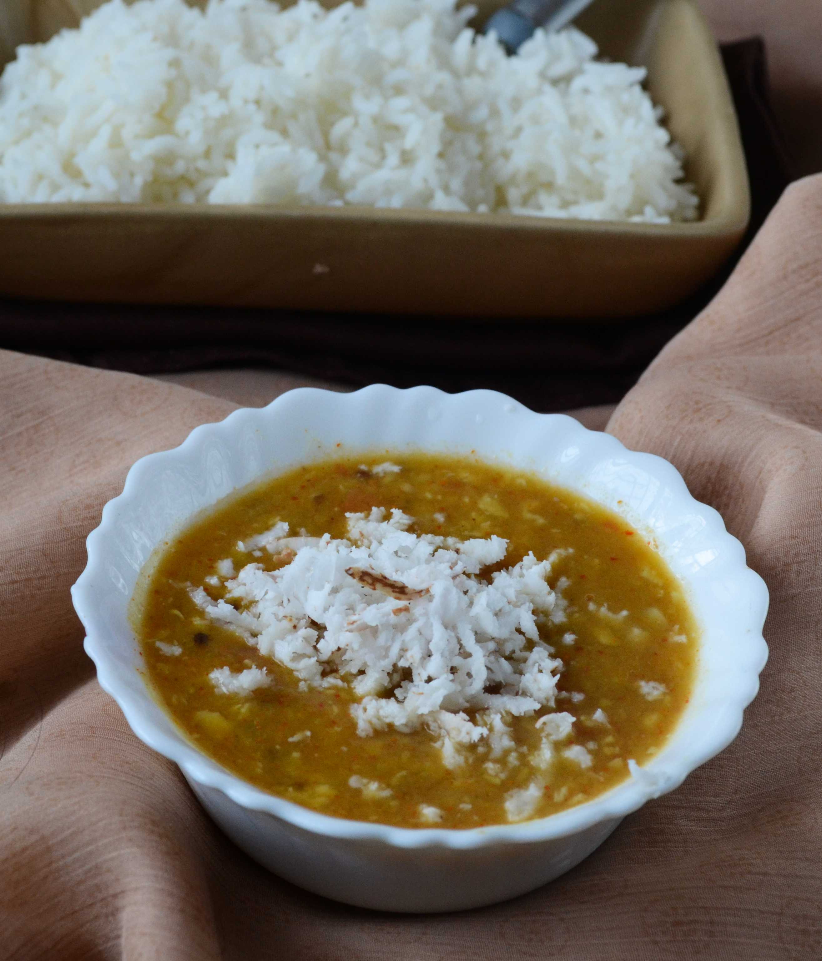 Chettinad Thengai Sambar