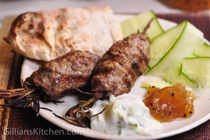 Lamb and Rosemary Koftas