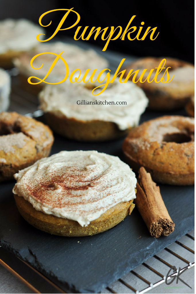Pumpkin Pie Spice Doughnuts: simple, everyday family recipes