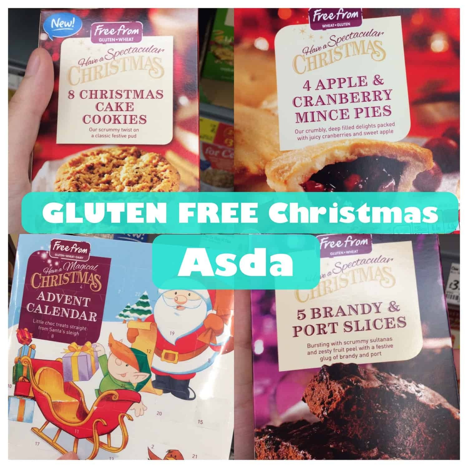 What Gluten Free Christmas Products are Asda selling this year?