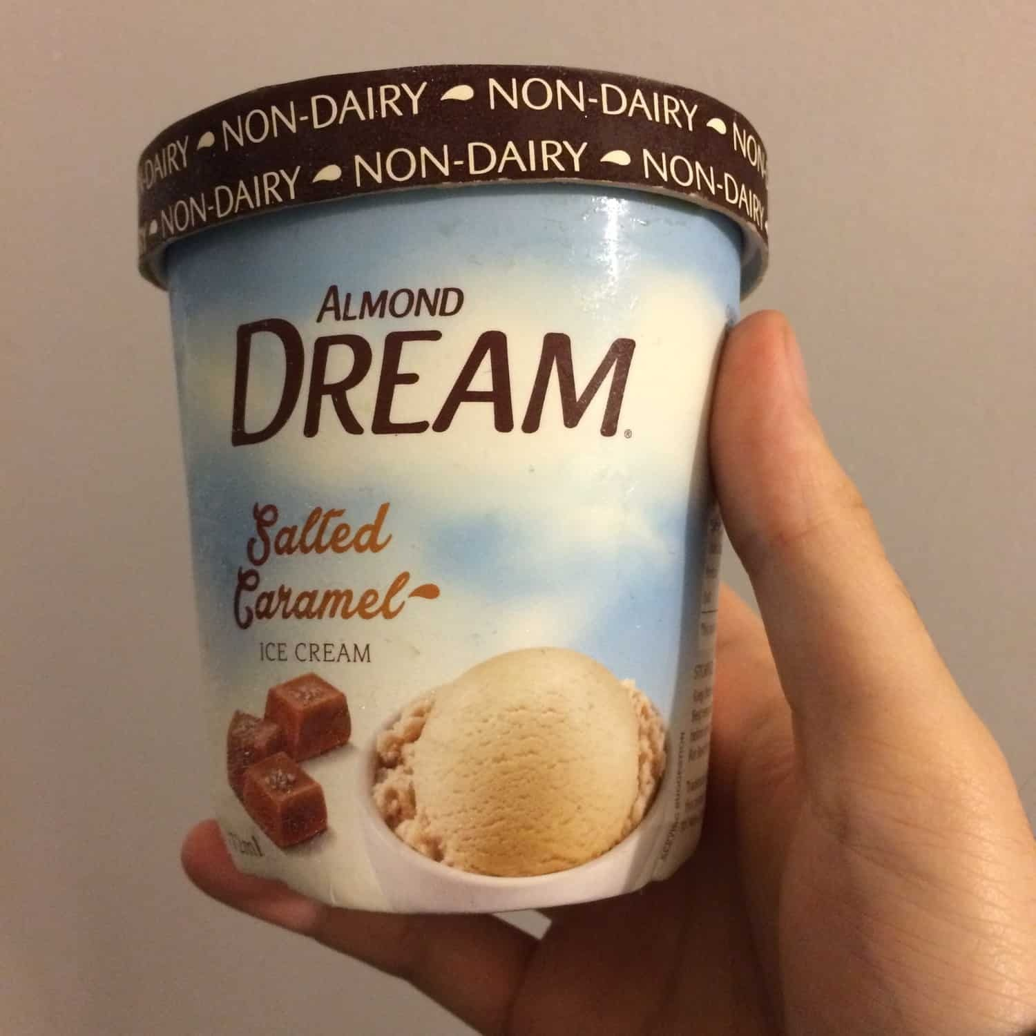 REVIEW: Almond Dream Salted Caramel Dairy free Ice Cream