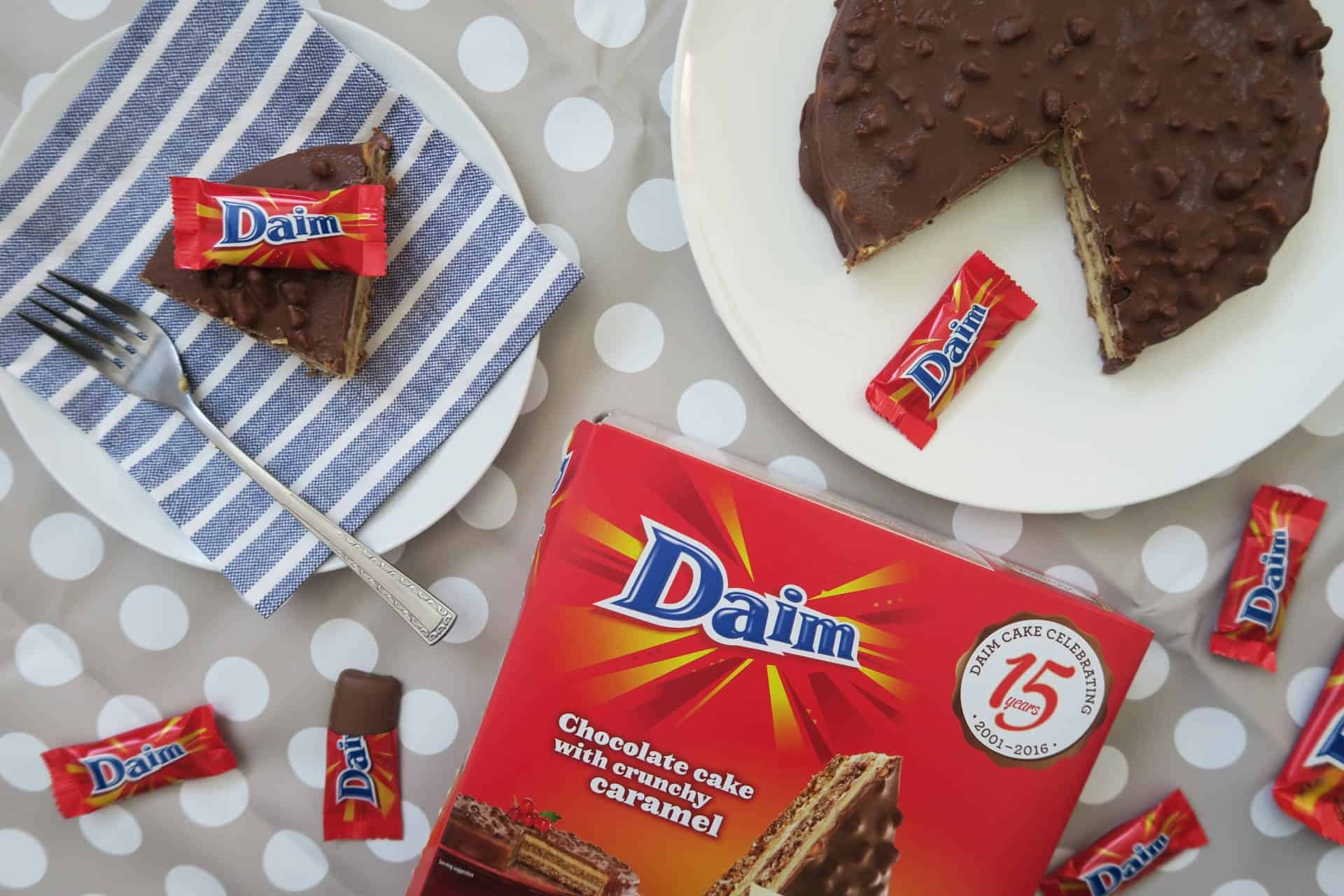 My Favourite… The Daim Gluten Free Chocolate Cake!