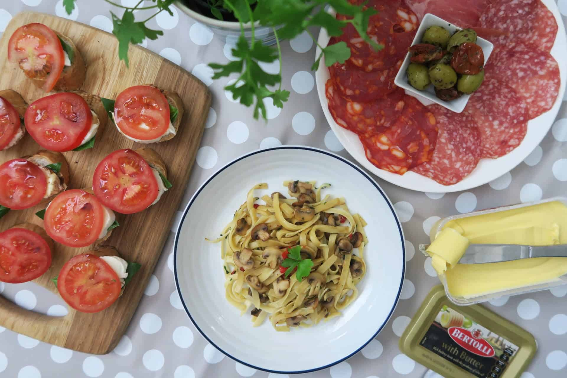 RECIPE: A Quick and Easy Gluten Free Italian Feast!