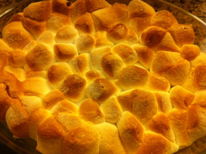 Baked Yam and Marshmallow