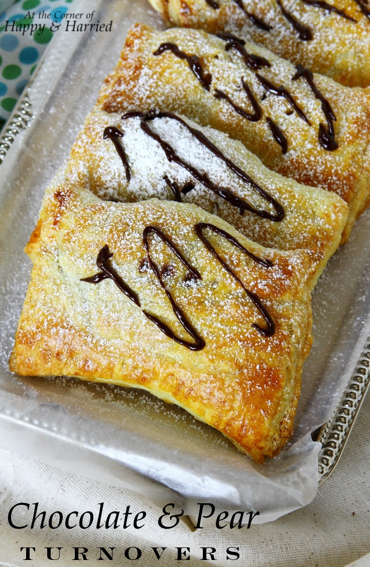 Chocolate And Pear Turnovers