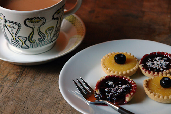 Cakes & Bakes: Lemon curd and jelly tarts