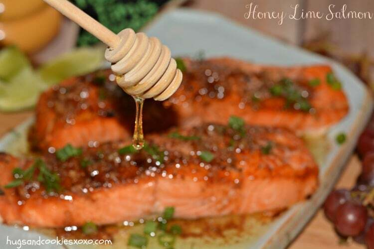 Browned Butter Honey Lime Salmon