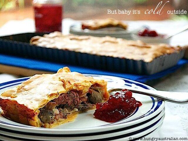 Chicken, Bacon & Mushroom Pie - Recipe from Everyrecipe.com.au