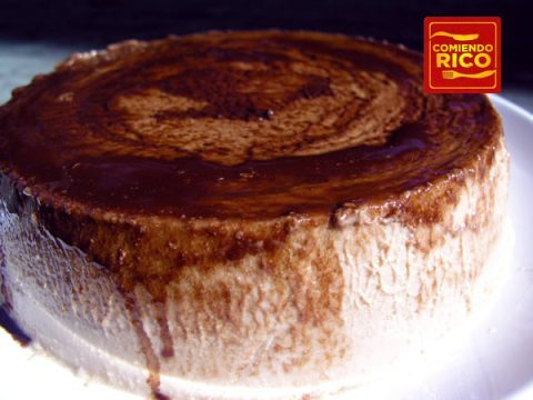 Flan de Quseo Con Chocolate – El Chocolatoso