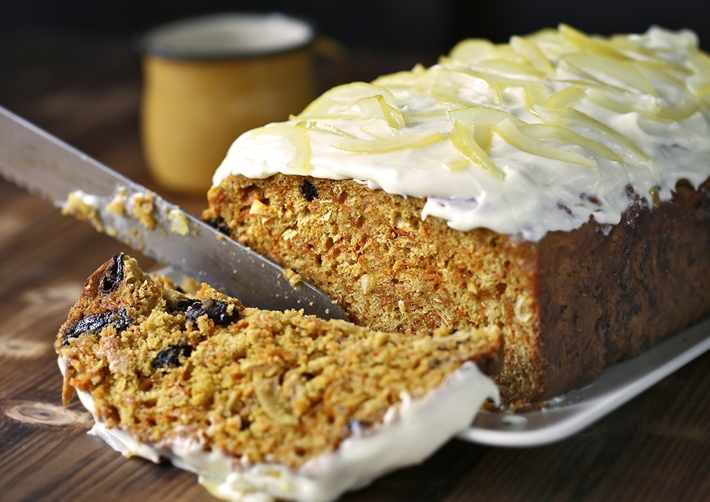 Carrot Cake with Lemon Cream Frosting