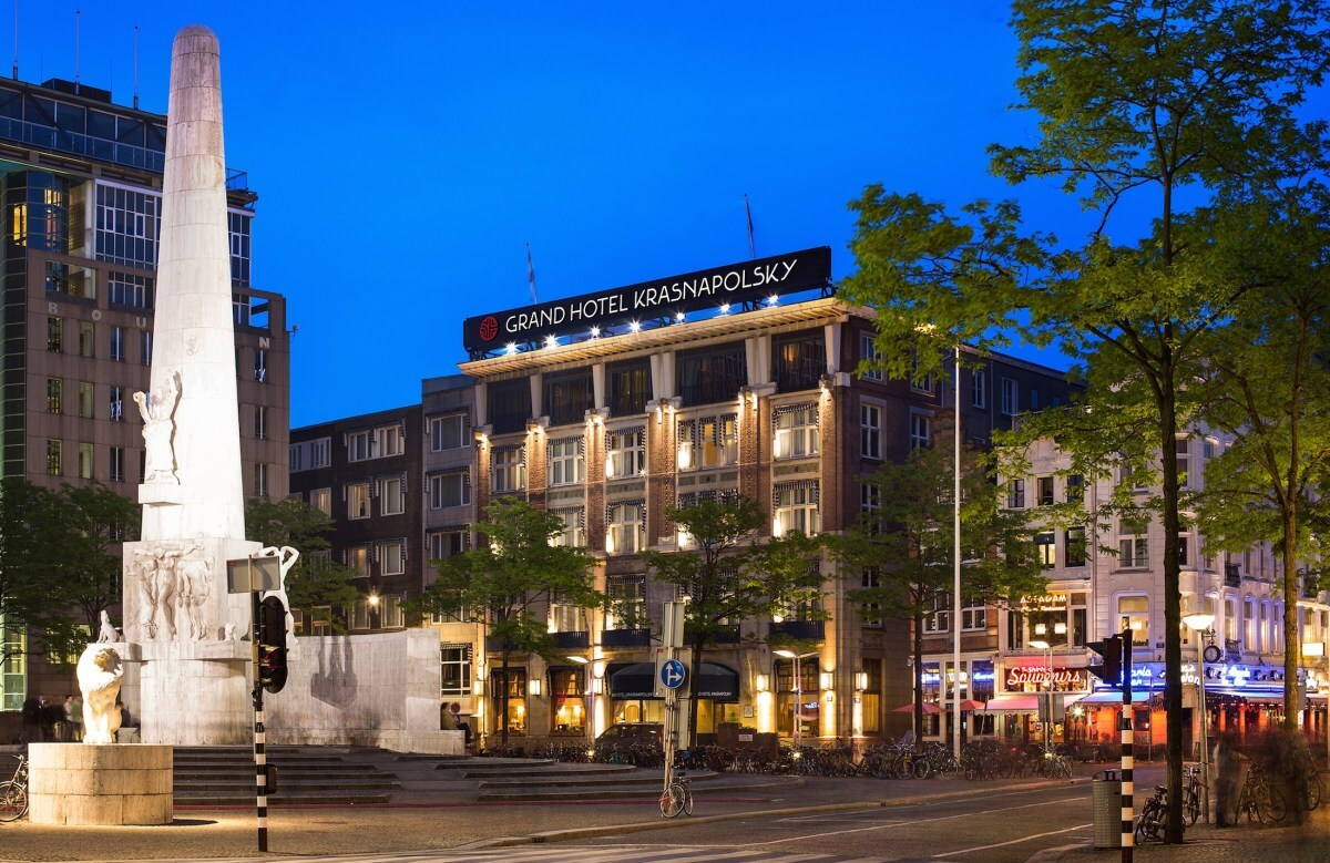 Sleep Off That Stroopwafel At Amsterdam's Grand Hotel Krasnapolsky