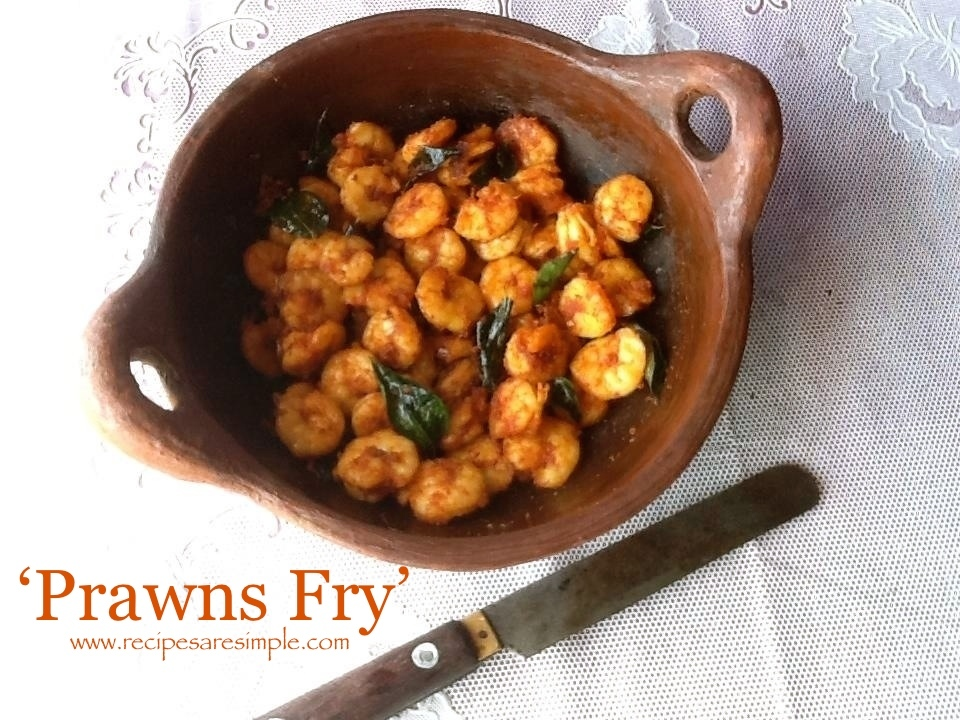 Tasty Prawns Fry – Fried Shrimp