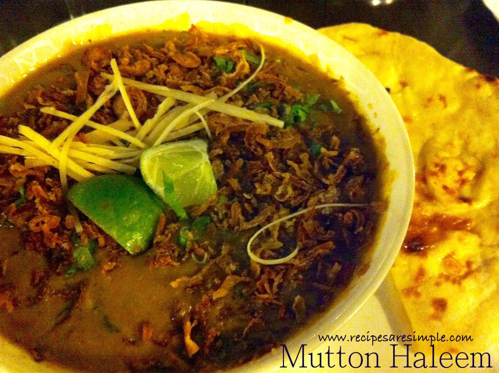 Mutton Haleem – Mutton Stewed with Wheat and Dal