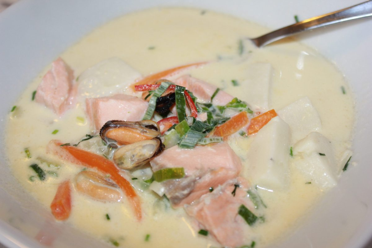 Lise's Fiskesuppe