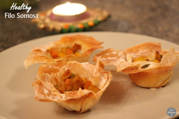 Healthy Samosa Baskets