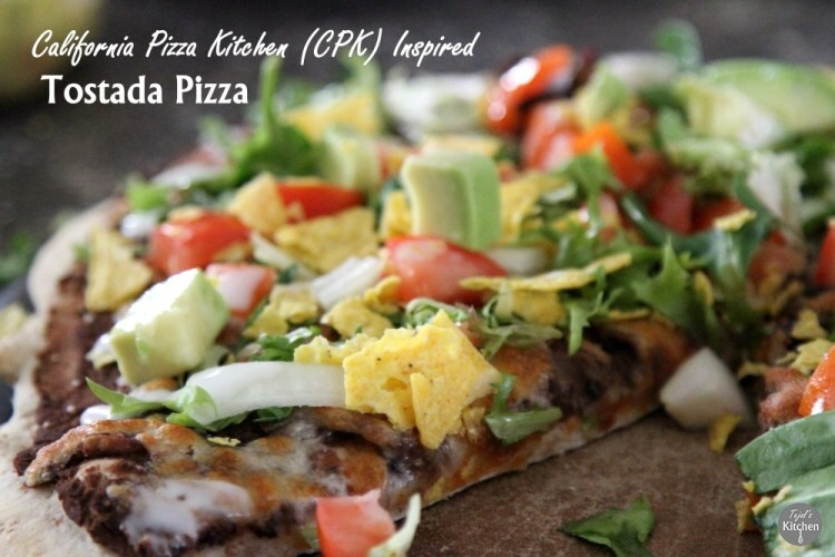 Tostada Pizza – CPK Inspired