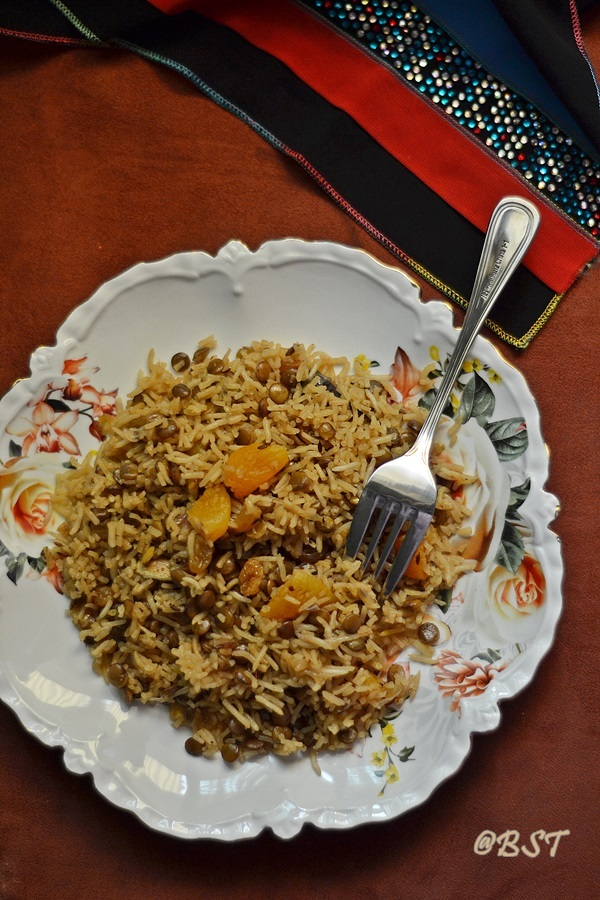 Adas Polo/ Pulow ~ Persian Lentil Rice