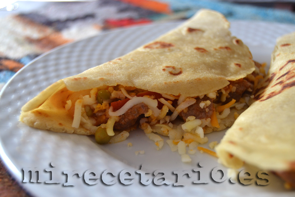 Tortillas mexicanas {Tacos de ternera}
