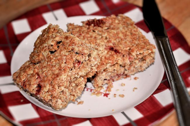 Strawberry Flapjacks Recipe