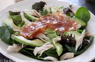 Clean Eating Chicken & Prosciutto Salad