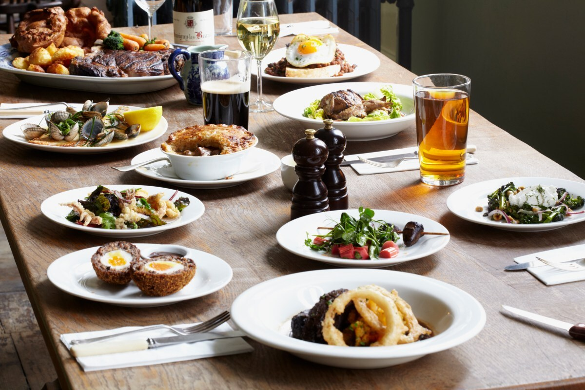 7 London Gastropubs Propelling British Cuisine