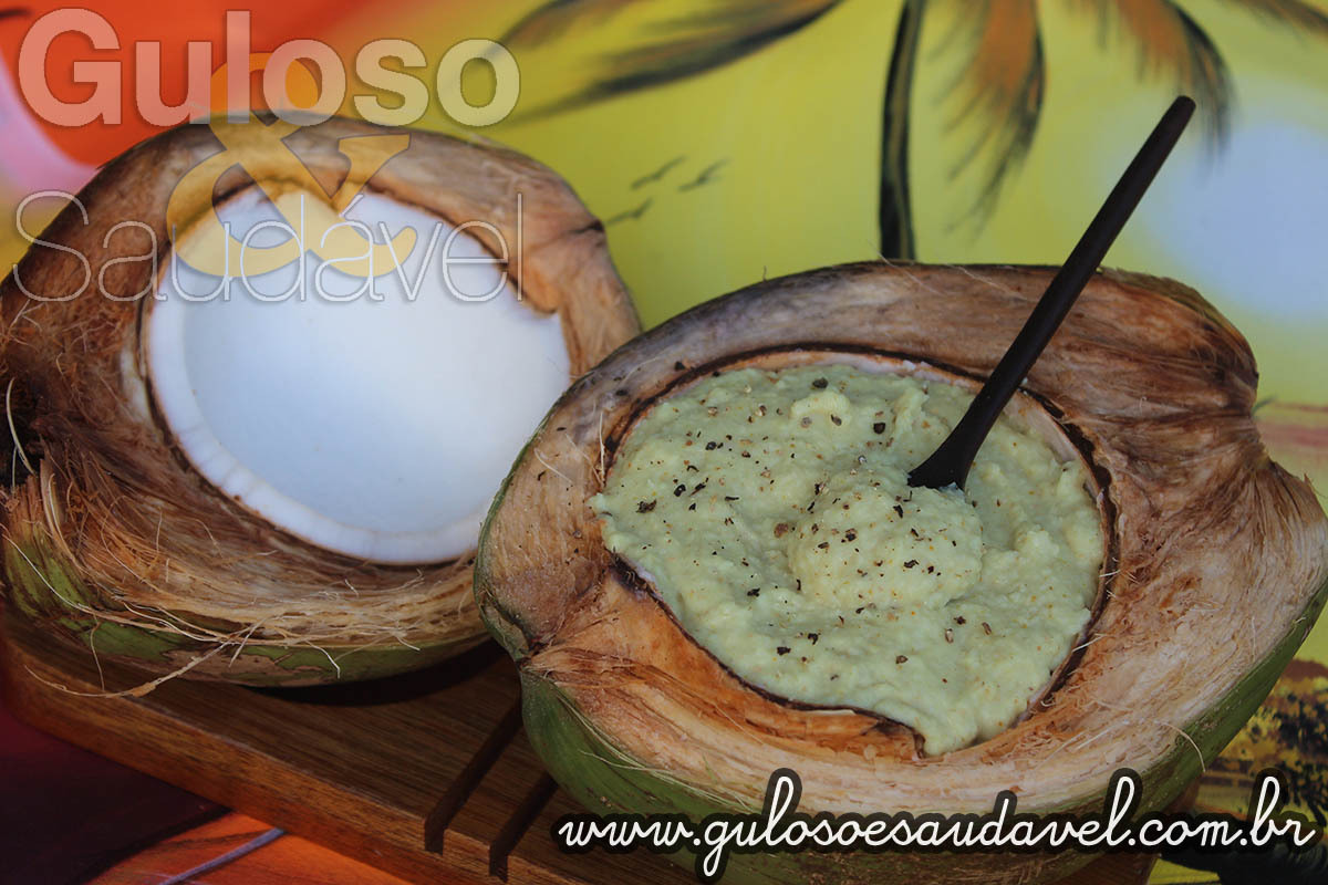 Puré de Coco ao Curry