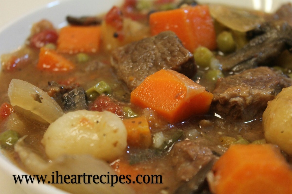 Beef Stew made in the Crock-pot
