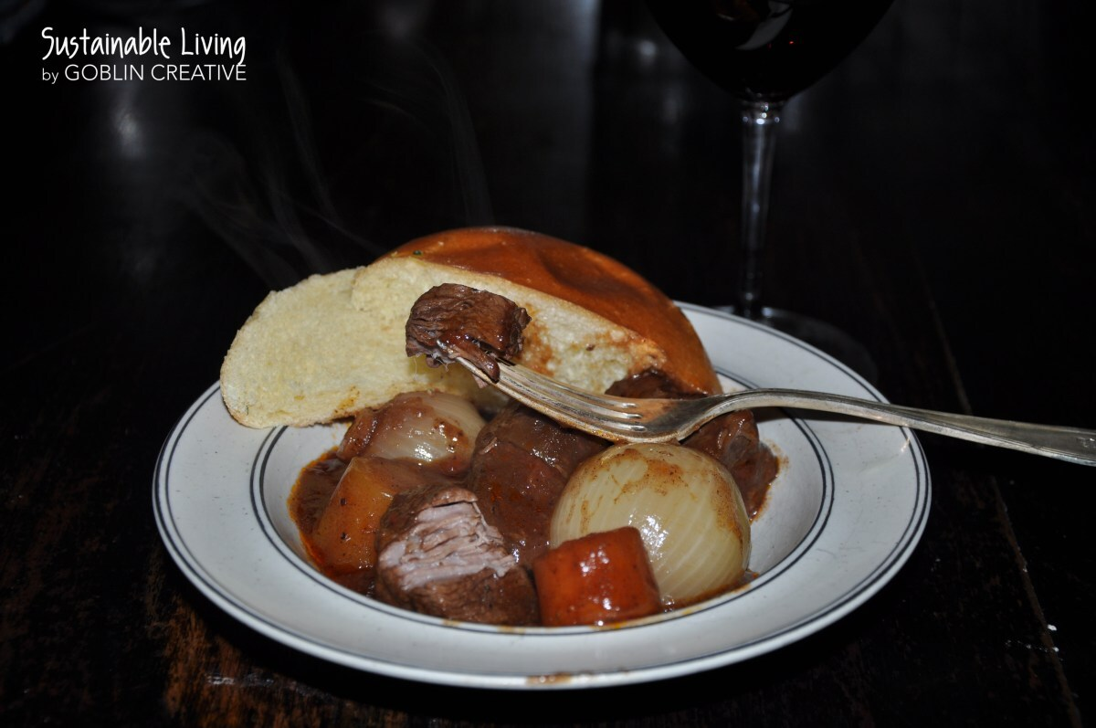Stifado i Crock-Pot