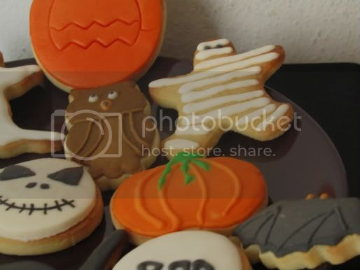 Galletas de Halloween 2011