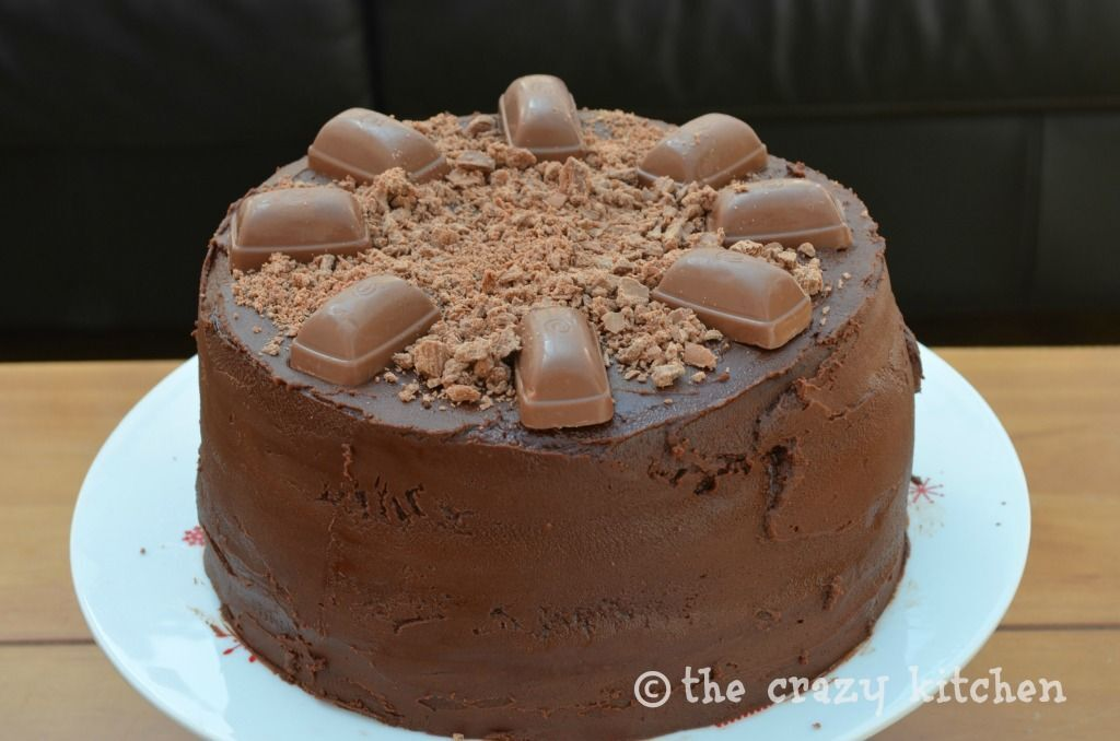 Triple Layer Chocolate Fudge Caramel Cake