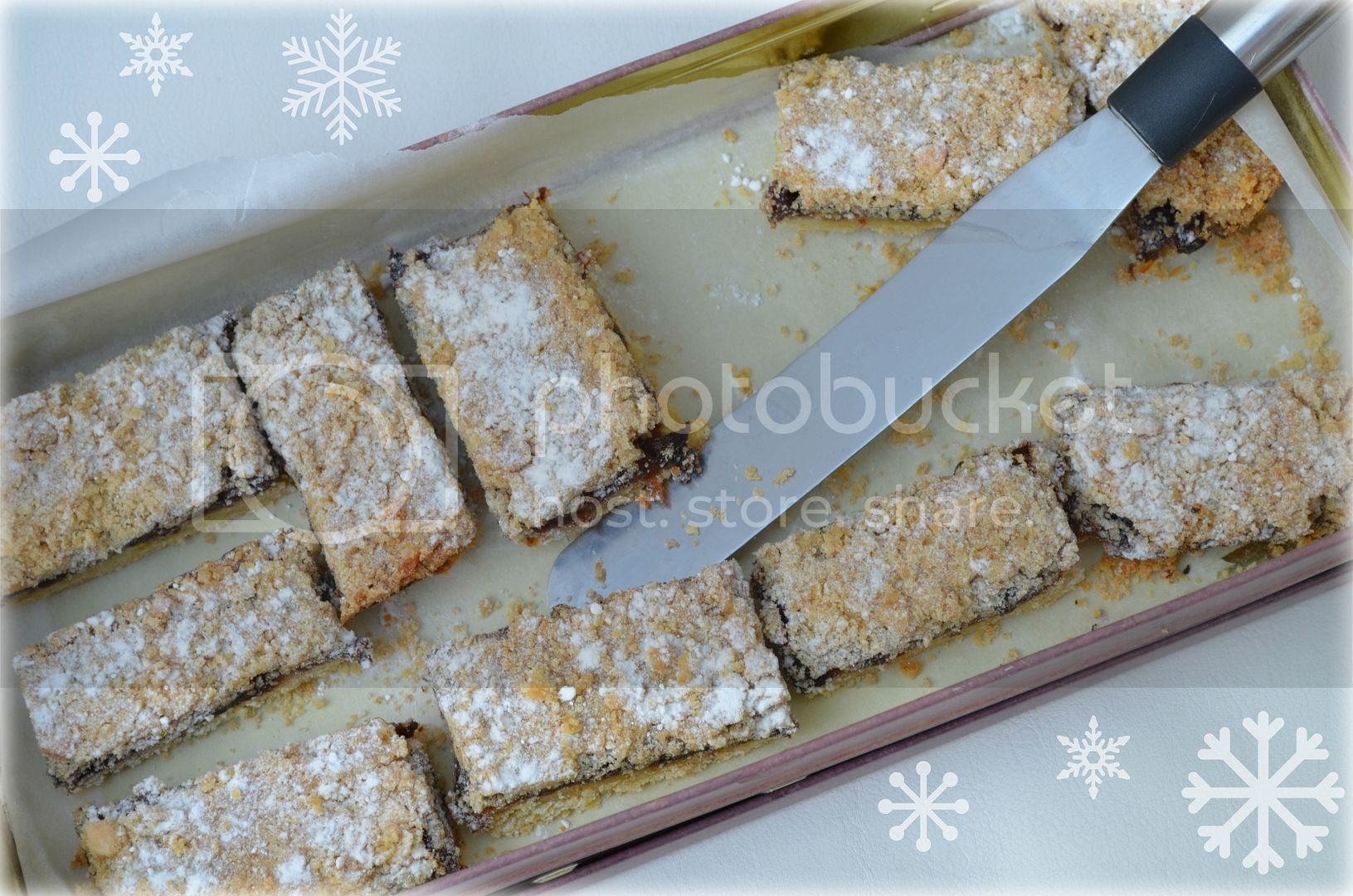 Chocolate Mincemeat Slices