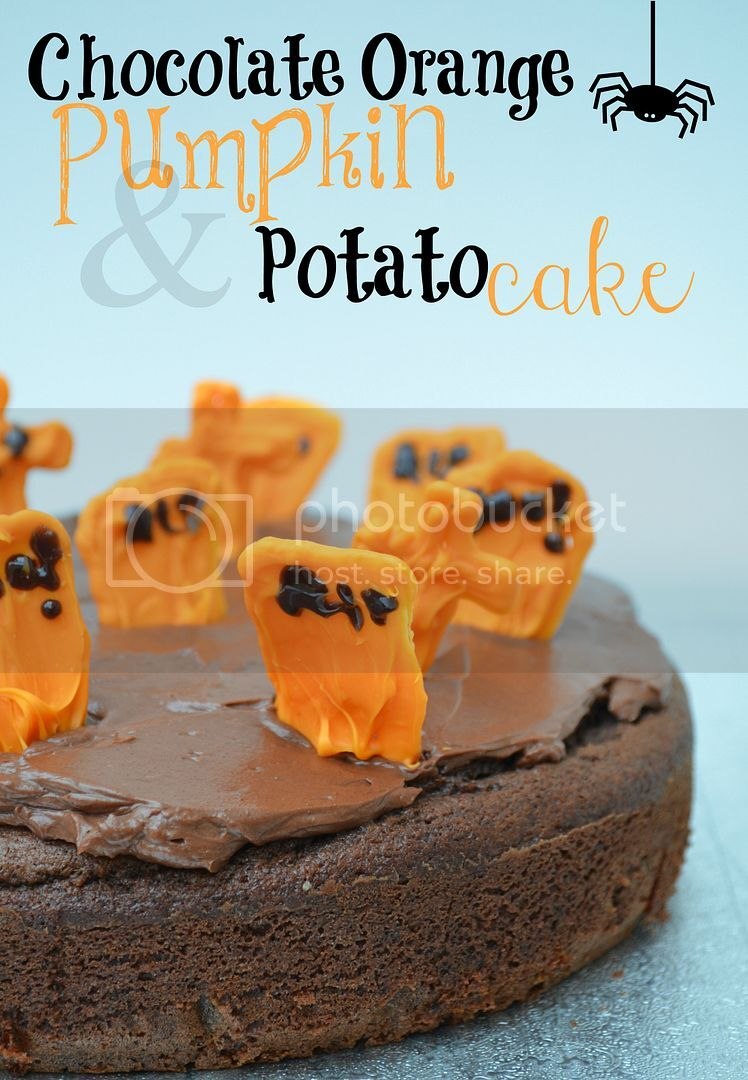 Devilishly Chocolatey Chocolate Orange Pumpkin & Potato Cake