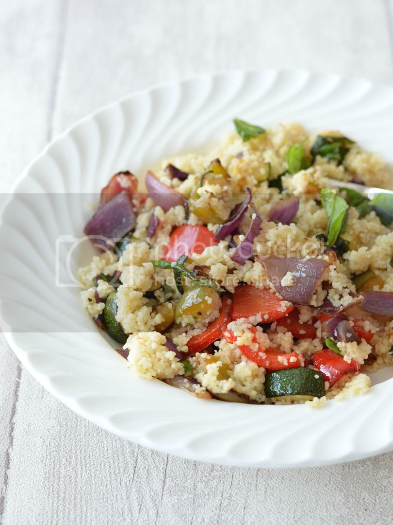 Roasted Vegetable Cous Cous
