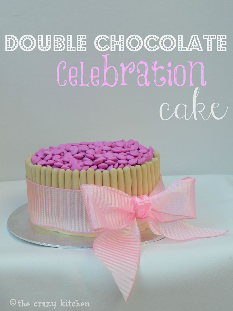Double Chocolate Celebration Cake