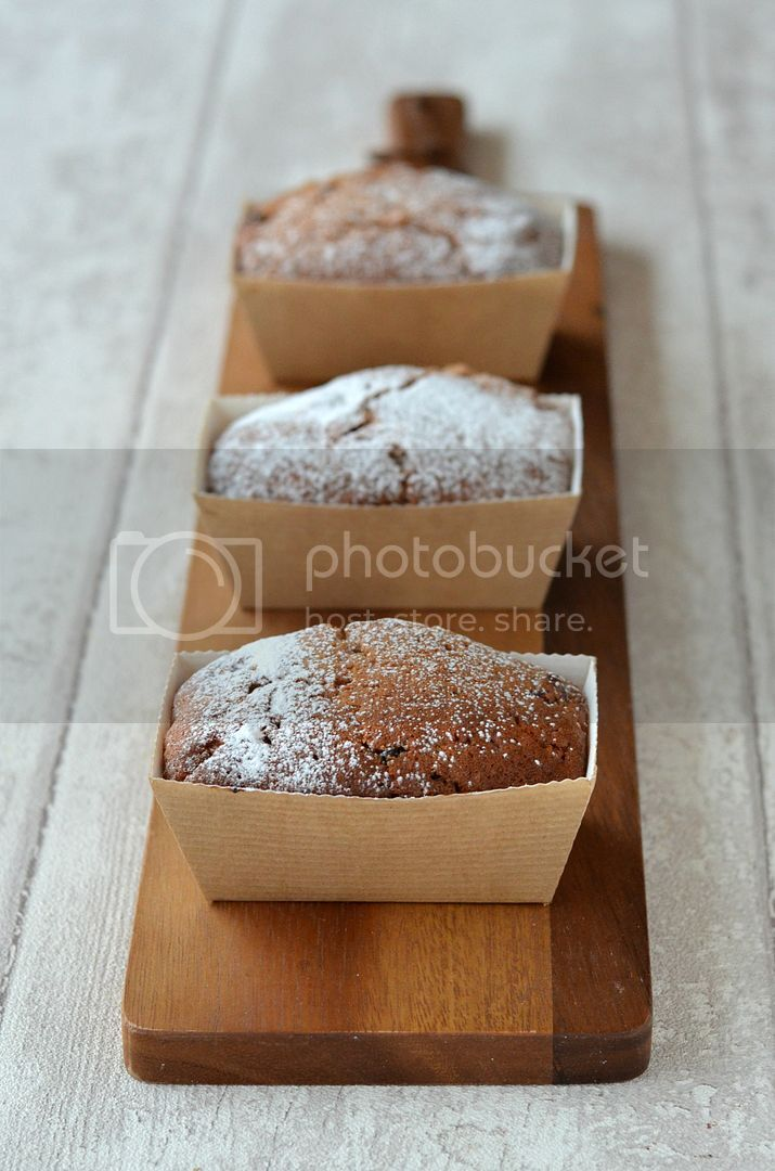 Mini Christmas Mincemeat Loaves