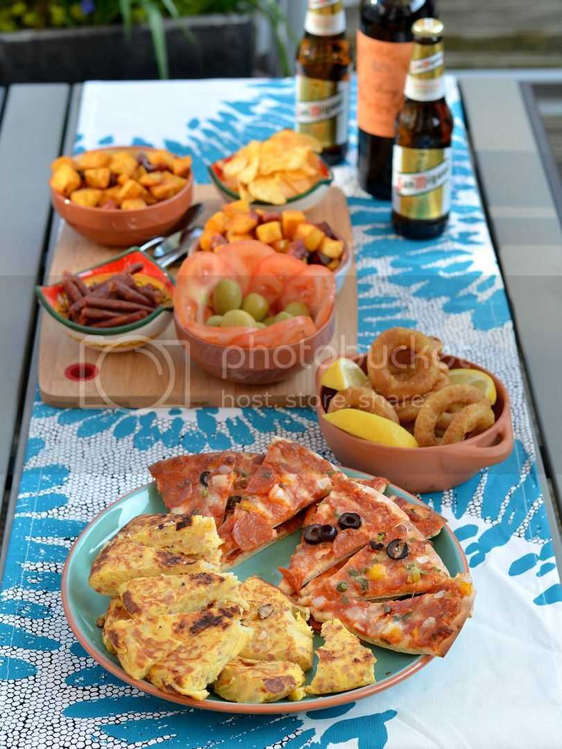 Spanish Tapas Al Fresco with Lidl UK