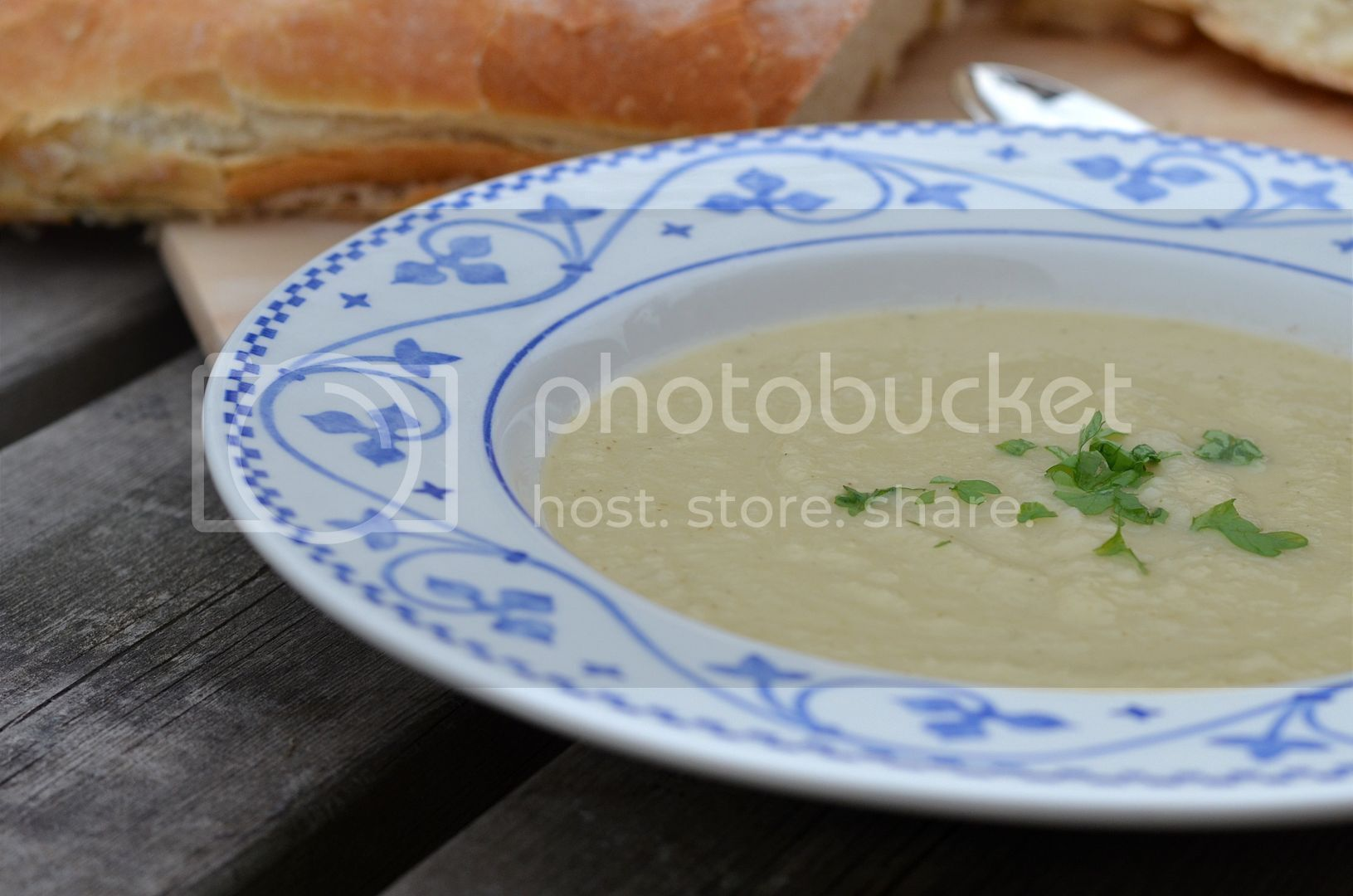 Thai Green Curried Parsnip Soup
