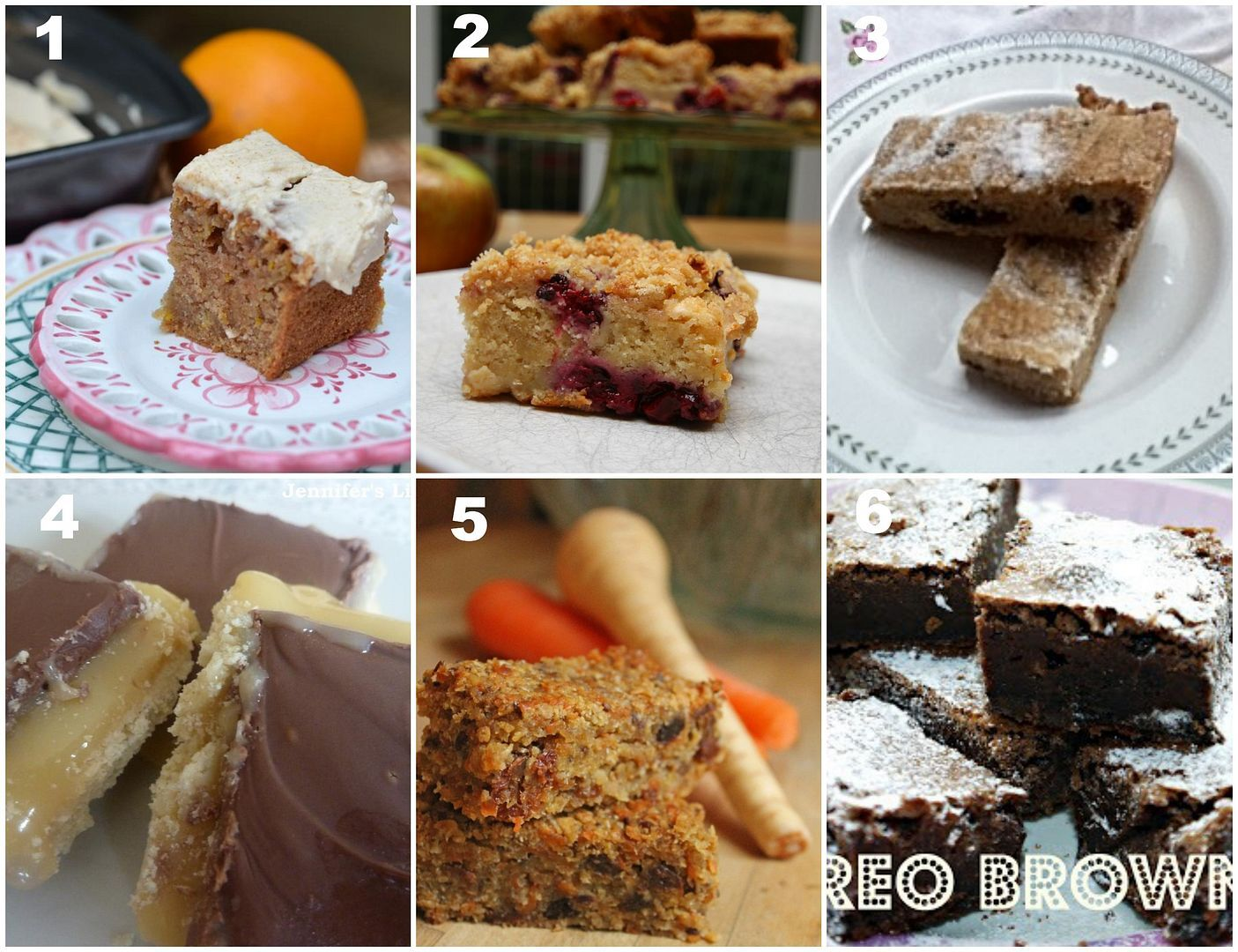 The Great Bloggers Bake Off - Week 5 Round Up