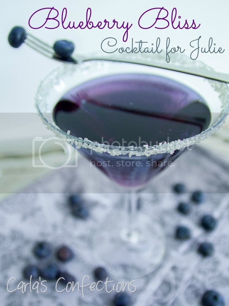 Blueberry Bliss Cocktail for Julie